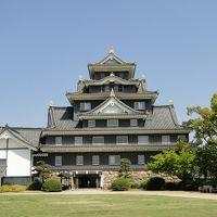 岡山城、後楽園。と仁徳天皇陵。