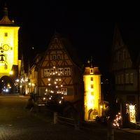 15年冬ドイツ南部のクリスマスマーケットめぐり☆04 ローテンブルク(前編・1日め)