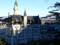 15年冬ドイツ南部のクリスマスマーケットめぐり☆10 ノイシュヴァンシュタイン城とヴィース教会