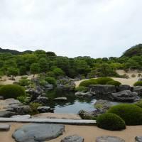 1泊2日で山陰へ行きました、三朝温泉、境港、大根島、足立美術館、友達と大山眺めて一周の旅