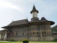 ルーマニア旅行ー8:スチャバ(僧院巡り 4+2)
