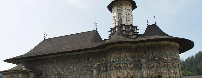 ルーマニア旅行ー8:スチャバ(僧院巡り...