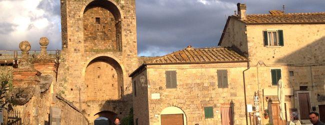 シェナと近郊小さなかわいい町 モンテリ...