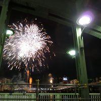 初めて隅田川花火大会行ってきました!!!