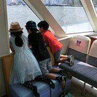 三世代で巡る海遊館USJ奈良の旅初日 4人の孫、いつも一緒に、新幹線、レゴランド、二段ベッドと京の和菓子