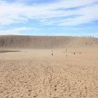 山陰本線で東へ向かう旅3 炎天下鳥取砂丘へ