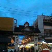 2016年夏タイ北部ドライブとバンコクの旅� チェンライ 夜のお出かけ編