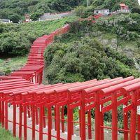 出雲大社、安芸の宮島、元乃隅稲成神社と萩へ。
