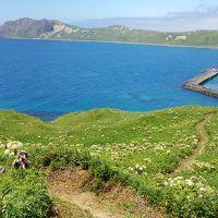 道北:キャンプと釣りの旅 三日目_憧れの礼文島トレッキング