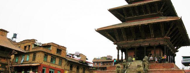 震災1年後のネパール(8) 3つの広場...