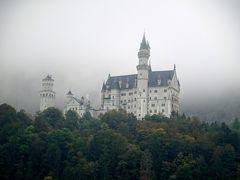 4連休でインスブルック&南ドイツ(3) フュッセン&霧のノイシュヴァンシュタイン城