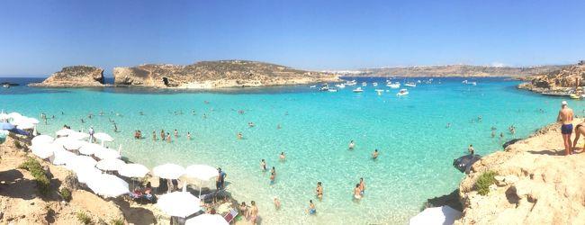 憧れの海「ブルーラグーン」 in Malta