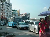 雨季の終わりのヤンゴンをぶらぶら 10月後半