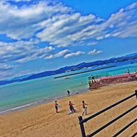 子供たちと綺麗な海で海水浴、キャンプ、花火楽しかったな〜!