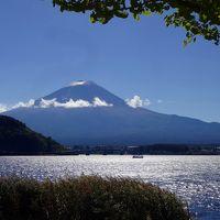 移ろう季節にーーー富士初冠雪日の甲斐路