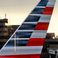 成田空港離陸 アメリカン航空AA170便で ☆ロサンゼルスまで8861Km