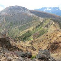 那須岳登山&那須湯本温泉湯治旅・その1 山旅紀行.那須岳(朝日岳&茶臼岳)を登頂。