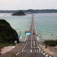 角島大橋を渡って角島灯台探索