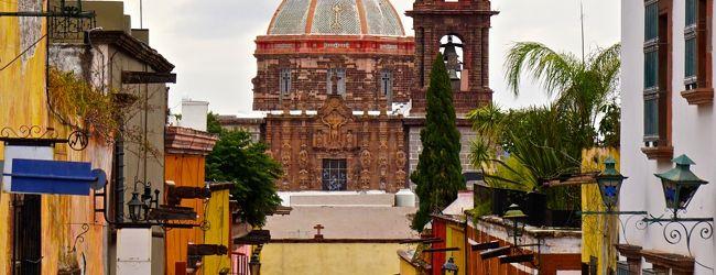 雨の San Miguel de Allende