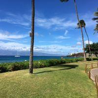 3度目のマウイ島11/18�のんびりマウイの海を楽しんで、ハイアットでスワンコートディナー