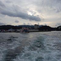 定期船で答志島へ。540円で観光かねて。