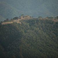 立雲峡から見る竹田城
