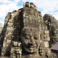 カンボジア 「行った所・見た所」 アンコール・トム遺跡群(バイヨンからライ王のテラス)観光