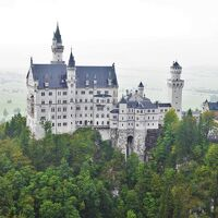 南ドイツとオーストリア周遊旅行3 ノイシュバンシュタイン城からミュンヘンへ