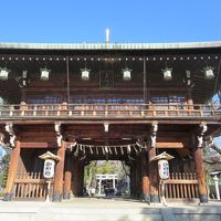 1人で歩く冬の大阪☆石切釼箭神社☆カメさんに願いをたくして(*^_^*)