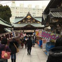 湯島天神初詣と第一山の手散歩 おまけ新宿西口