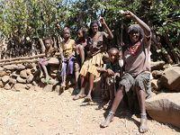秘境パックで行くエチオピア�  世界遺産の段々畑、コンソ村へ