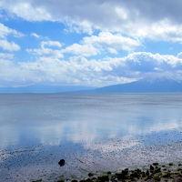 February 2017 かごしま  ◆雪化粧の桜島と仙巌園&かごしまのプチウユニ??重富海岸に行ってみっが