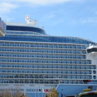 阪九フェリーで九州 3/6 �島原散策と長崎で巨大客船に興奮