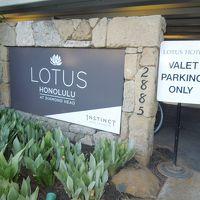 Lotus Honolulu に8泊 前編