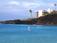 カアナパリビーチでアラ古希SUPに挑戦!!!