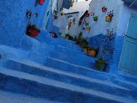モロッコ添乗員付ツアー� 空色の街 シャウエンはフォトジェニック
