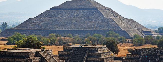 冬のメキシコ旅行(7)−【世】古代都市テ...