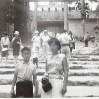 1965年(昭和40年)8月家族(小学生5年)で愛知(名古屋・犬山)三重(伊勢・鳥羽)の旅(2013年にも夫婦で名古屋・伊勢・鳥羽の旅)�