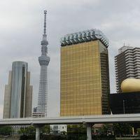 鶯谷(うぐいすだに)から東京スカイツリーまで歩いてみた。