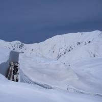 富山旅03 立山: 雪の大谷 19mの壁