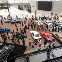 歴代車両全13モデルが展示されたSKYLINE 60Th TIME LINE By ヒルズアリーナ