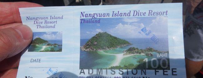 サムイからシュノーケルツアーで、タオ島...