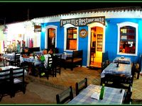 ポルトガル人が500年前に、初めて上陸したブラジルの地:ポルトセグーロ、夜市編-2-(バイーア州/ブラジル)