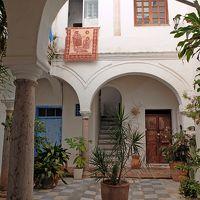 2016.12ジブラルタル海峡への遠い道18-タリファの街歩き,城門,聖マテオ教会など