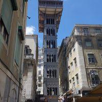 リスボンの街歩きはまずバイシャ地区から。地理的にも標高が低い下町です。
