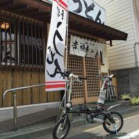 輪行福岡 日帰りB級グルメ旅!