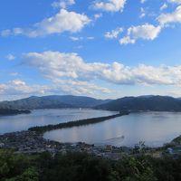 コスタで日本海を巡る その10 天橋立は神様の梯子?