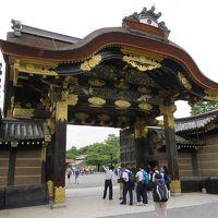 京都の三日目(22日)は二条城と上賀茂、下鴨、河合、八坂の諸神社をまわる。