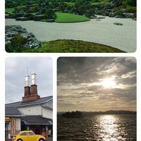 鳥取と松江にドライブしました。