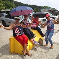 ハガニアで解放記念日パレードを見たノープラングアム!
